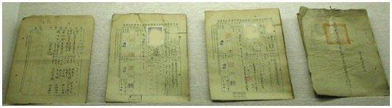 專技人員考試聲請中醫檢附履歷書(民國三十八年)