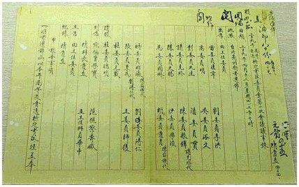 高等及普通檢定考試委員會第一次會議議事錄影本(民國三十九年)