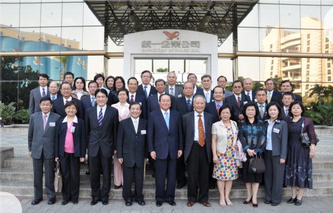 98年度長官企業參訪統一企業集團(98年12月10日)