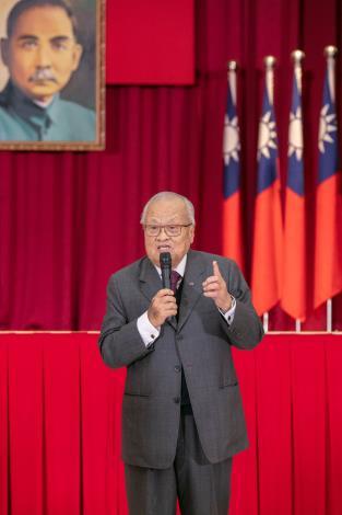 許前院長水德於考試院90周年慶茶會致詞